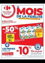 Prospectus Carrefour Market : Le mois de la fidélité 2