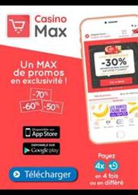 Prospectus Géant Casino SAINT GRÉGOIRE : Un Max de promos en exclusivité!