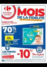 Prospectus Carrefour Market BOURGES AVENUE DE LATTRE DE TASSIGNY : Le mois de la fidélité 3
