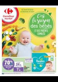 Prospectus Carrefour Market Paris Saint Ouen : PUÉRICULTURE