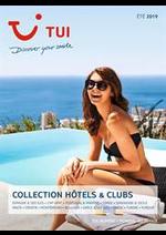 Prospectus  : Collection Hôtels & Clubs Été 2019