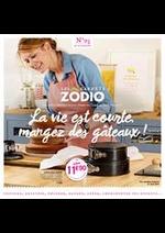 Prospectus Zôdio : La vie est courte, mangez des gâteaux!