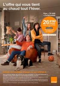 Prospectus Orange : L'offre qui vous tient au chaud tout l'hiver