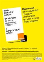 Promos et remises  : Orange Bank