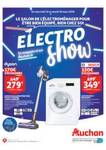 Prospectus Auchan drive : Le salon de l'électroménager pour être bien équipé, bien chez soi