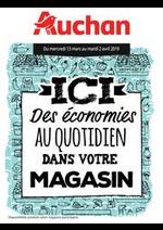 Prospectus Auchan drive : Des économies au quotidien