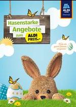 Prospectus Aldi : Aldi Osterbroschüre