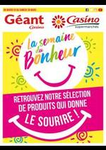 Prospectus Supermarchés Casino : La semaine du bonheur