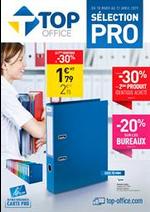 Prospectus Top office : Sélection PRO