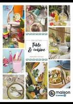 Prospectus E.Leclerc : Table et cuisine