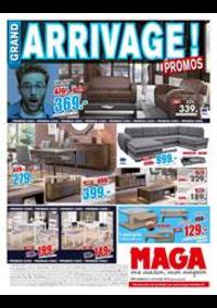 Prospectus Maga Meubles Héricourt : Arrivage de promos