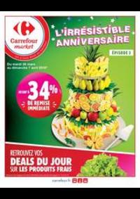 Prospectus Carrefour Market COLOMBES : L'irrésistible anniversaire 2