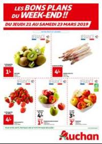 Prospectus Auchan PUTEAUX : Les bons plans du week-end !