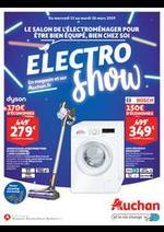 Prospectus Auchan : Le salon de l'électroménager pour être bien équipé, bien chez soi