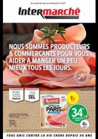 Prospectus Intermarché Super Rugles : NOUS SOMMES PRODUCTEURS & COMMERÇANTS