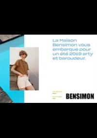 Prospectus Bensimon Boulogne : Lookbook Printemps Été