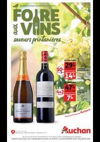 Prospectus Auchan CERGY : Foire aux vins, saveurs printanières