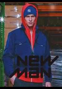 Prospectus New Man PARIS 96 RUE SAINT CHARLES : Collection Homme