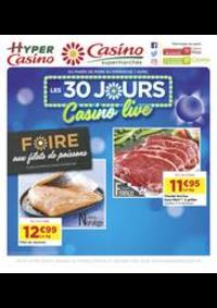 Prospectus Supermarchés Casino PARIS 28 - 34 rue de Ménilmontant : Les 30 jours Casino live
