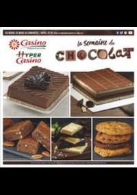 Prospectus Supermarchés Casino BESANCON Place de la Bascule : La semaine du chocolat