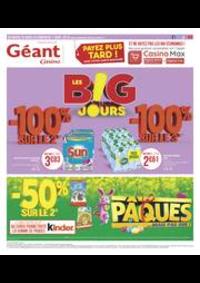 Prospectus Géant Casino BOISSY SAINT LÉGER : Les B!G jours