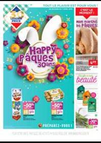 Prospectus Leader Price Franconville : Happy Pâsques 30 ans