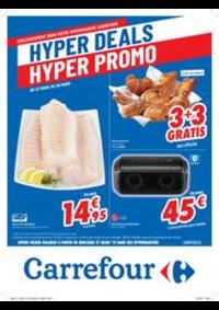 Prospectus Carrefour AUDERGHEM / OUDERGHEM : Hyper deals ! Hyper promos : offres valables à partir du 27 mars