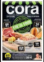 Prospectus Cora : Foire au frais chez cora 26-03