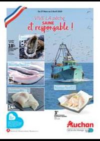 Prospectus Auchan PUTEAUX : Vive la pêche saine et responsable !