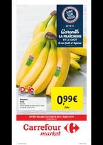Prospectus Carrefour Market : Carrefour market : offres valables à partir du 27 mars
