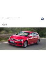 Journaux et magazines Volkswagen : Volkswagen Golf