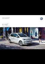 Journaux et magazines Volkswagen : Volkswagen e-up!