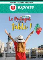 Prospectus U Express : INVITEZ LE PORTUGAL À VOTRE TABLE !
