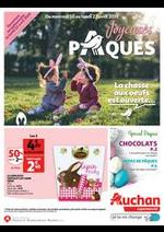 Prospectus Auchan : La chasse aux oeufs est ouverte...