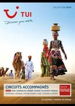Prospectus Nouvelles frontières : Circuits Accompagnés