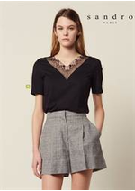 Prospectus Sandro : T-Shirts Femme