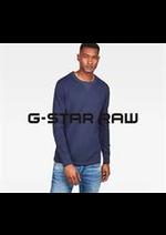 Prospectus G Star : Nouveautés / Homme