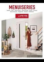 Prospectus Lapeyre : Catalogue Menuiserie 2019