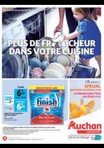 Prospectus Auchan Supermarché : Plus de fraicheur dans votre cuisine