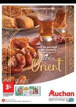 Prospectus Auchan : Délicieux Orient