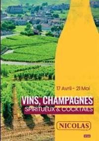 Prospectus NICOLAS CHOISEUL : Vins, Champagnes