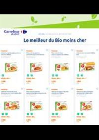 Prospectus Carrefour Drive Bourg-la-Reine : Le meilleur du Bio moins cher