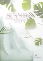 Prospectus Yves Delorme : De feuilles en fleurs 2019