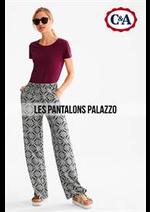 Promos et remises  : Les Pantalons Palazzo