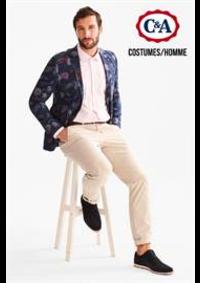 Prospectus C&A Argenteuil : Costumes / Homme