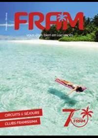 Prospectus Ambassade FRAM MONTESSON : Catalogue Printemps-Été 2019