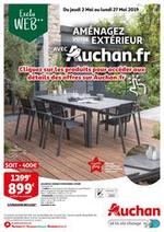 Promos et remises  : Aménagez votre extérieur avec Auchan.fr