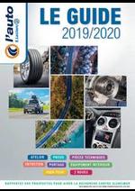 Prospectus L'auto E.Leclerc : <div>LE GUIDE 2019/2020</div>