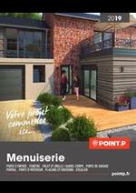 Prospectus Point P : Menuiserie 2019