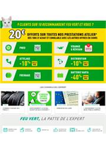 Prospectus Feu Vert : Offres Feu Vert